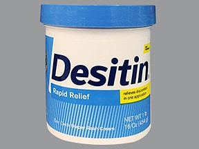 Desitin 13 % topical cream