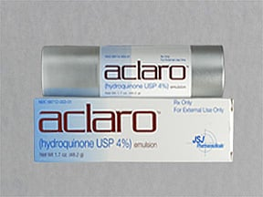 Aclaro 4 % topical emulsion