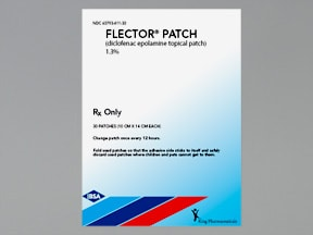 Flector 1.3 % transdermal 12 hour patch