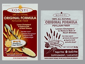 Konsyl Sugar-Free 6 gram oral powder packet