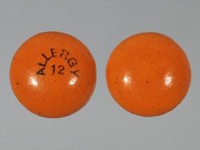 Allergy Relief (chlorpheniramine) ER 12 mg tablet,extended release