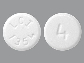 hydromorphone 4 mg tablet