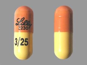 Symbyax 3 mg-25 mg capsule
