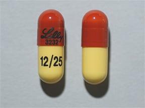 Symbyax 12 mg-25 mg capsule