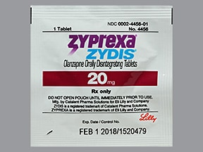 Zyprexa Zydis 20 mg disintegrating tablet