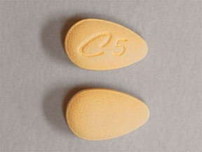 Cialis 5 mg tablet