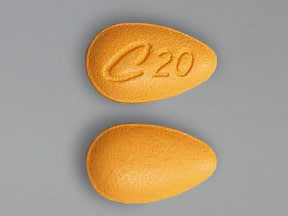 Cialis 20 mg tablet