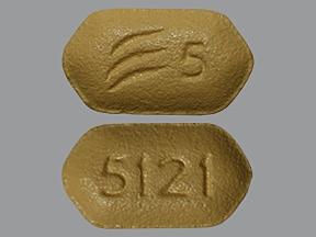 Effient 5 mg tablet