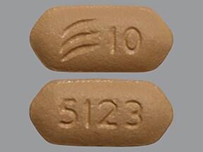 Effient 10 mg tablet
