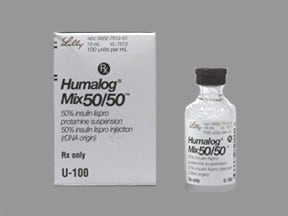 Humalog Mix 50-50 100 unit/mL subcutaneous suspension