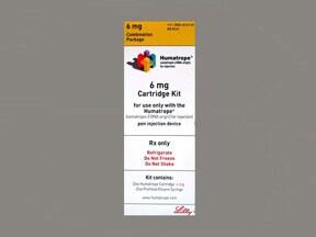 Humatrope 6 mg (18 unit) injection cartridge