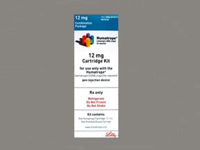 Humatrope 12 mg (36 unit) injection cartridge