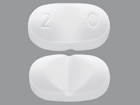 Onfi 20 mg tablet