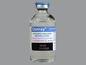 Conray 60 % injection solution