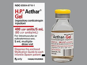 Acthar H.P. 80 unit/mL injection gel