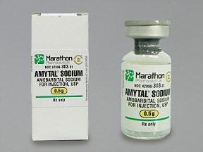 Amytal 500 mg solution for injection