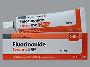 fluocinonide 0.05 % topical cream
