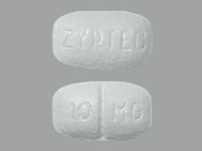 Zyrtec 10 mg tablet