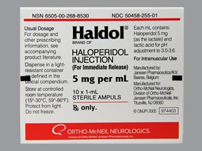 haloperidol side effects