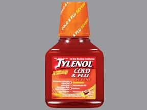 Tylenol Cold and Flu Severe 5 mg-10 mg-325 mg-200 mg/15 mL oral liquid
