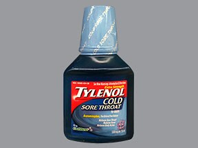 Tylenol Sore Throat 500 mg/15 mL oral liquid