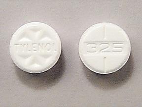 Tylenol 325 mg tablet