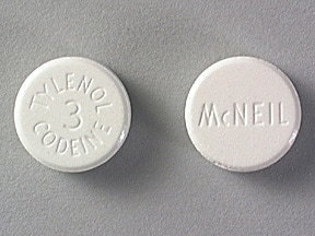 Tylenol-Codeine #3 300 mg-30 mg tablet