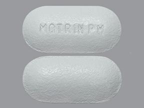 Motrin PM 200 mg-38 mg tablet