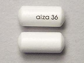 Concerta 36 mg tablet,extended release