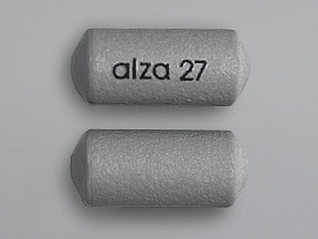 Concerta 27 mg tablet,extended release