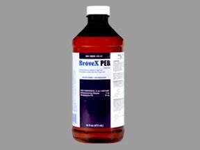 BroveX PEB 4 mg-10 mg/5 mL oral liquid