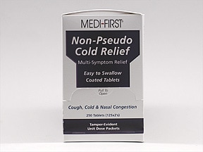 Non-Pseudo Cold Relief 5 mg-15 mg-325 mg-200 mg tablet