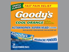 Goody's Extra Strength 500 mg-325 mg-65 mg oral powder packet
