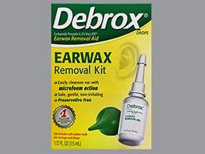 Debrox 6.5 % ear drops