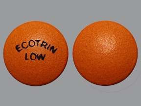 Ecotrin Low Strength 81 mg tablet,enteric coated