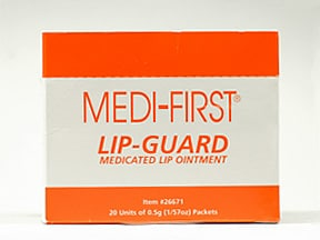 Lip-Guard 0.6 %-0.5 %-1 %-0.5 % topical ointment