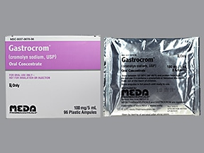 Gastrocrom 100 mg/5 mL oral concentrate
