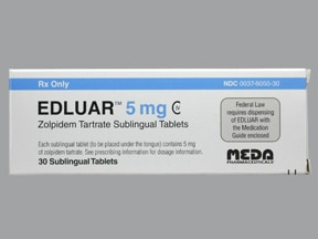 Edluar 5 mg sublingual tablet