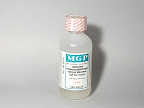 Lidocaine Viscous 2 % mucosal solution