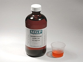 dexamethasone 0.5 mg/5 mL oral elixir