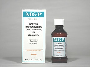doxepin 10 mg/mL oral concentrate