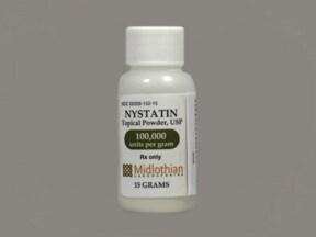 nystatin 100,000 unit/gram topical powder