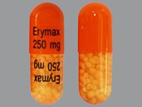 erythromycin 250 mg capsule,delayed release