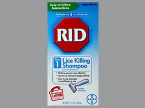 RID Lice Killing 0.33 %-4 % shampoo