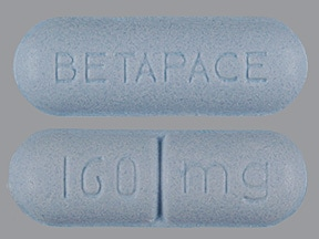 Betapace 160 mg tablet