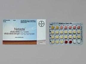 Natazia 3 mg/2 mg-2 mg/2 mg-3 mg/1 mg tablet