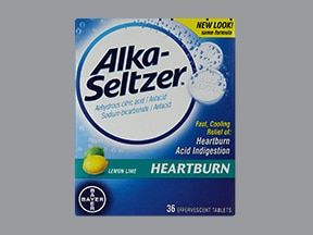 Alka-Seltzer Heartburn 1,940 mg-1,000 mg effervescent tablet