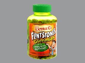Flintstones/Extra C 100 mcg chewable tablet