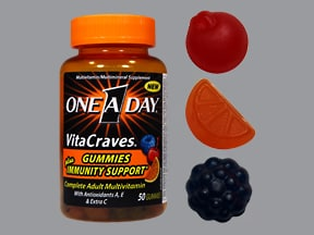 One-A-Day Vitacraves Immunity 200 mcg chewable tablet