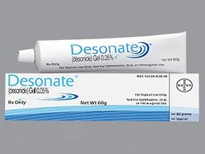 Desonate 0.05 % topical gel
